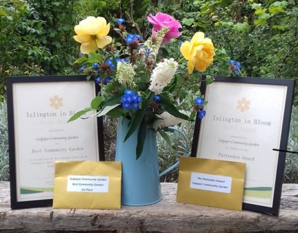 Islington in Bloom awards